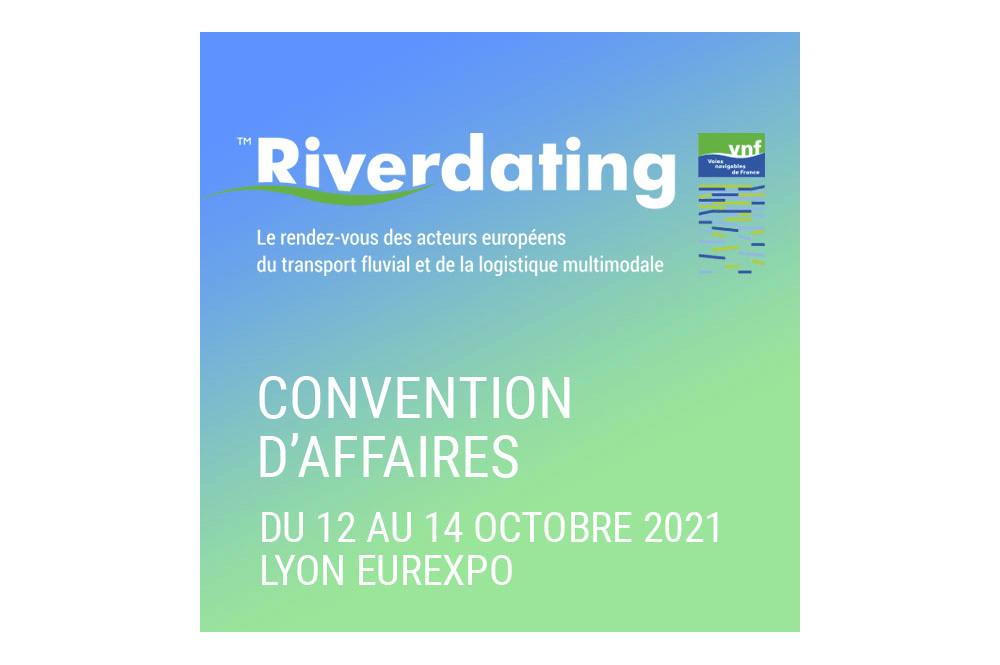 Riverdating du 12 au 14 octobre 2021 à Lyon Eurexpo